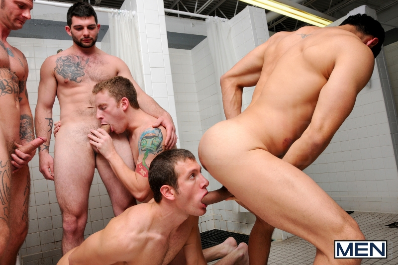 Coach Got A Boner - Rafael Alencar - Ricky Sinz - Tony Paradise - Spencer Fox - Sebastian Keys - Jizz Orgy - Men of Gay Porn - Photo #12