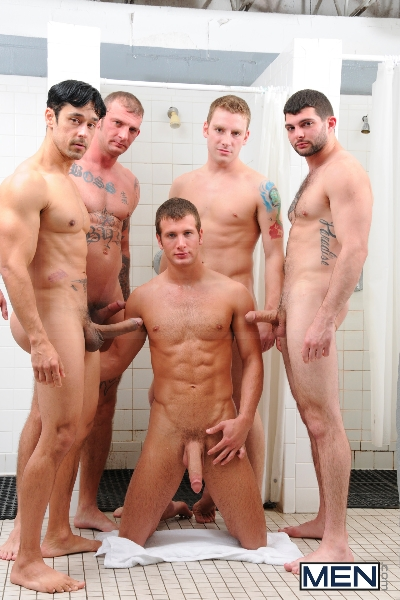 Coach Got A Boner - Rafael Alencar - Ricky Sinz - Tony Paradise - Spencer Fox - Sebastian Keys - Jizz Orgy - Men of Gay Porn - Photo #6