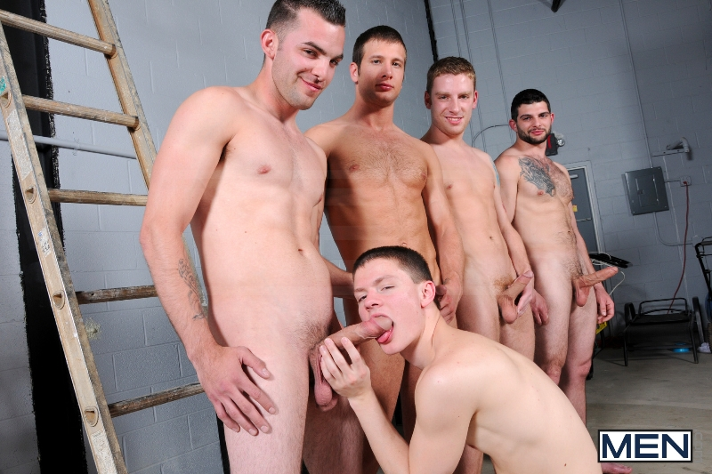On The Set - Tyler Sweet - Tony Paradise - Spencer Fox - Sebastian Keys - Brad Foxx - Jizz Orgy - Men of Gay Porn - Photo #11
