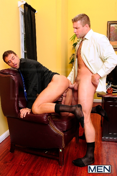 Touchy Boss - Colby Jansen - Rocco Reed - The Gay Office - Men of Gay Porn - Photo #10