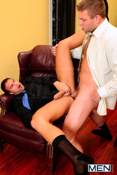Touchy Boss - Colby Jansen - Rocco Reed - The Gay Office - Men of Gay Porn - Photo #11