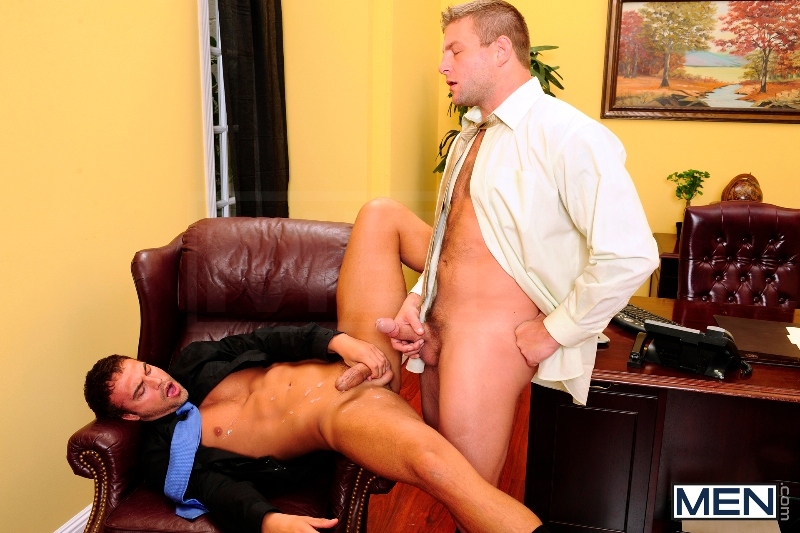Touchy Boss - Colby Jansen - Rocco Reed - The Gay Office - Men of Gay Porn - Photo #13