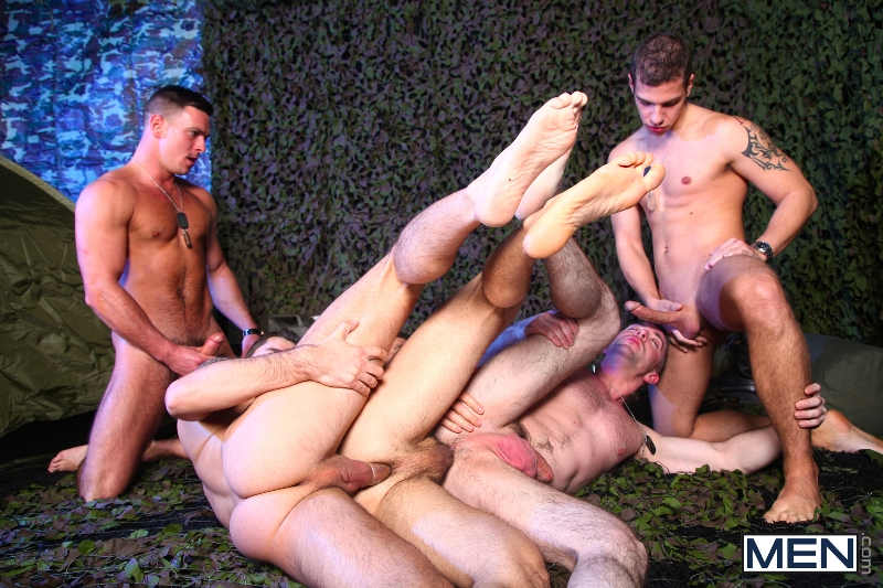 The Drill Sergeant 3 - Dean Monroe - Paddy O'Brian - Jay Roberts - Paul Walker - Scott Hunter - UK - Men of Gay Porn - Photo #10