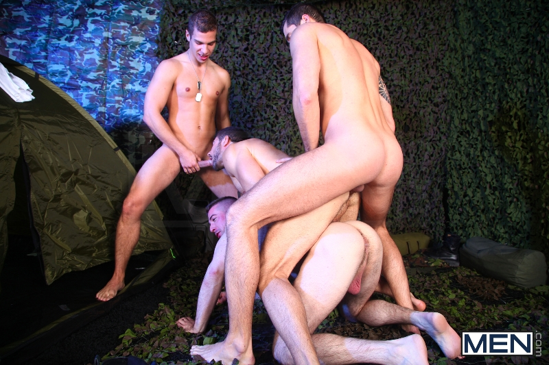 The Drill Sergeant 3 - Dean Monroe - Paddy O'Brian - Jay Roberts - Paul Walker - Scott Hunter - UK - Men of Gay Porn - Photo #12
