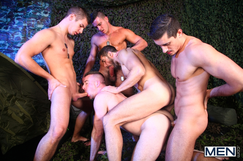 The Drill Sergeant 3 - Dean Monroe - Paddy O'Brian - Jay Roberts - Paul Walker - Scott Hunter - UK - Men of Gay Porn - Photo #14