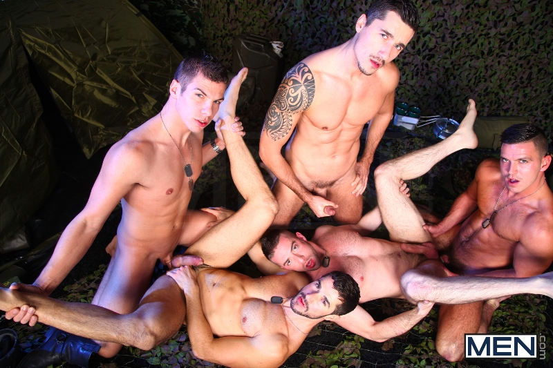 The Drill Sergeant 3 - Dean Monroe - Paddy O'Brian - Jay Roberts - Paul Walker - Scott Hunter - UK - Men of Gay Porn - Photo #15