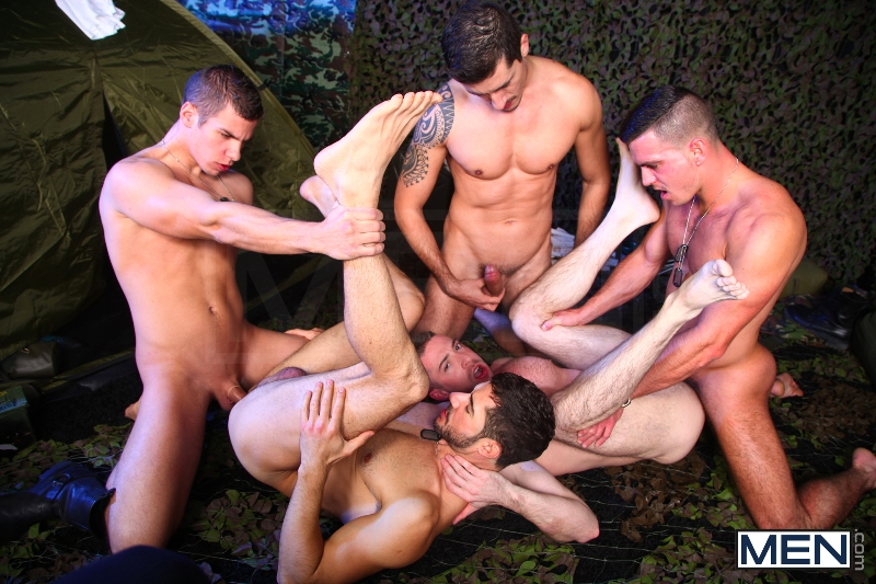 The Drill Sergeant 3 - Dean Monroe - Paddy O'Brian - Jay Roberts - Paul Walker - Scott Hunter - UK - Men of Gay Porn - Photo #17