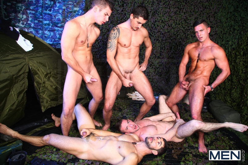 The Drill Sergeant 3 - Dean Monroe - Paddy O'Brian - Jay Roberts - Paul Walker - Scott Hunter - UK - Men of Gay Porn - Photo #18