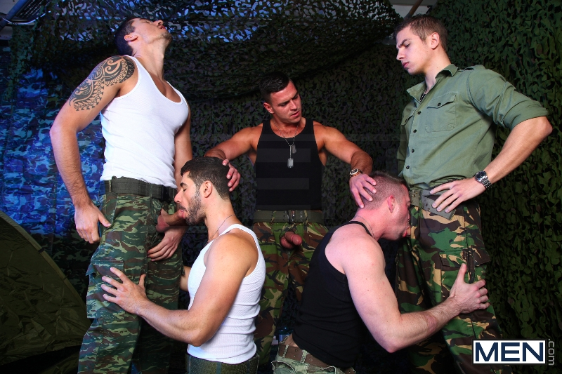 The Drill Sergeant 3 - Dean Monroe - Paddy O'Brian - Jay Roberts - Paul Walker - Scott Hunter - UK - Men of Gay Porn - Photo #7