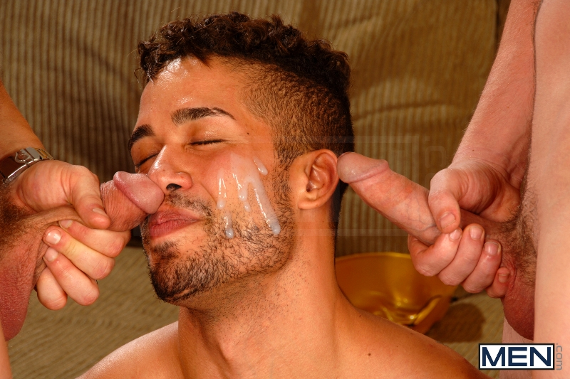 After The Masquerade - Trey Turner - Sebastian Young - Andrew Stark - Drill My Hole - Men of Gay Porn - Photo #17