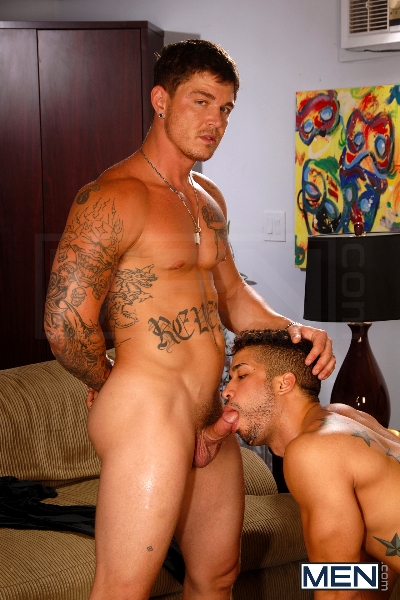 After The Masquerade - Trey Turner - Sebastian Young - Andrew Stark - Drill My Hole - Men of Gay Porn - Photo #7
