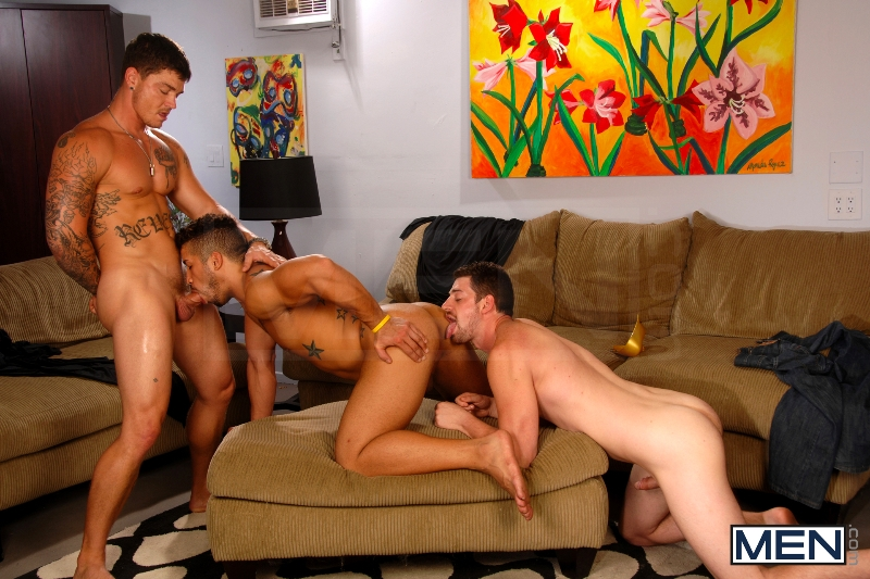 After The Masquerade - Trey Turner - Sebastian Young - Andrew Stark - Drill My Hole - Men of Gay Porn - Photo #9