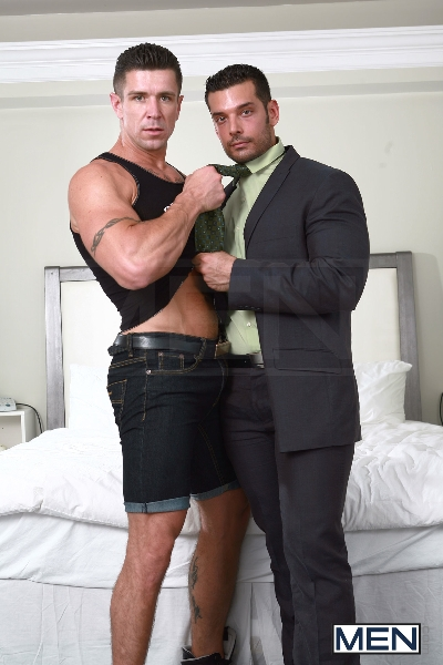 Out Of Town Trick - Trenton Ducati - Marcus Ruhl - The Gay Office - Photo #4