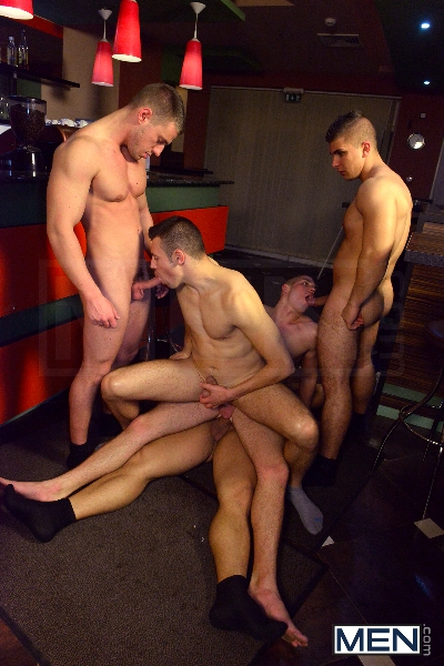Men In Budapest - Episode #6 - Marcus Ruhl - Jeffrey Branson - Gabe Russel - James Jones - Akos Zentay - Jizz Orgy - Men of Gay Porn - Photo #11