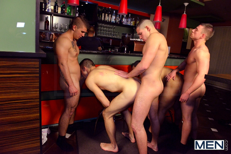 Men In Budapest - Episode #6 - Marcus Ruhl - Jeffrey Branson - Gabe Russel - James Jones - Akos Zentay - Jizz Orgy - Men of Gay Porn - Photo #12