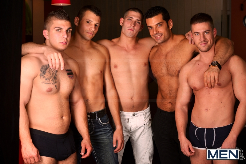 Men In Budapest - Episode #6 - Marcus Ruhl - Jeffrey Branson - Gabe Russel - James Jones - Akos Zentay - Jizz Orgy - Men of Gay Porn - Photo #6