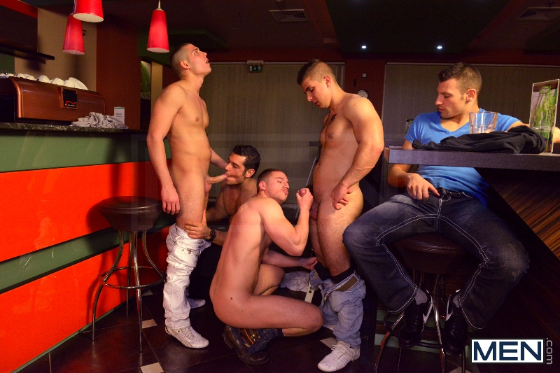 Men In Budapest - Episode #6 - Marcus Ruhl - Jeffrey Branson - Gabe Russel - James Jones - Akos Zentay - Jizz Orgy - Men of Gay Porn - Photo #7