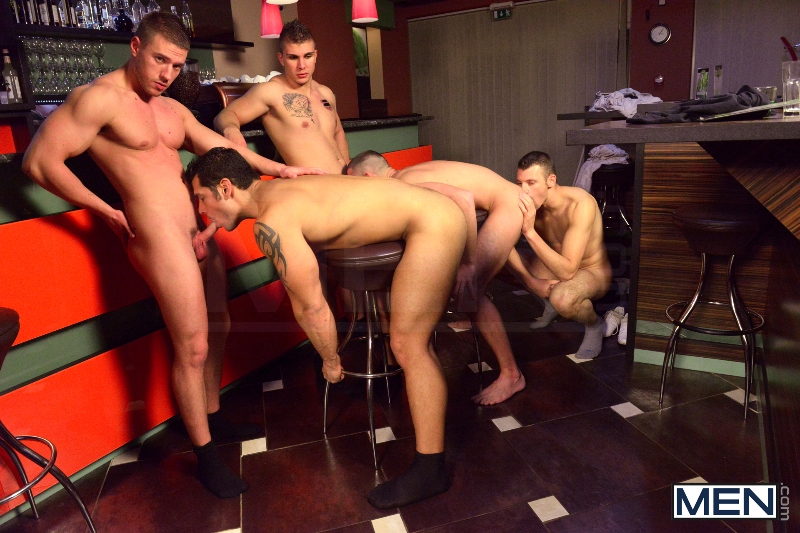Men In Budapest - Episode #6 - Marcus Ruhl - Jeffrey Branson - Gabe Russel - James Jones - Akos Zentay - Jizz Orgy - Men of Gay Porn - Photo #8