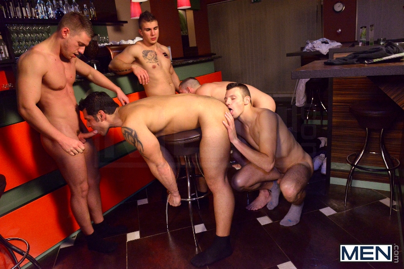 Men In Budapest - Episode #6 - Marcus Ruhl - Jeffrey Branson - Gabe Russel - James Jones - Akos Zentay - Jizz Orgy - Men of Gay Porn - Photo #9
