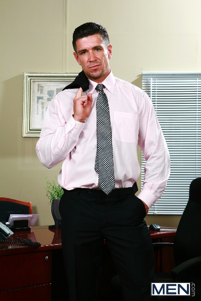 Sext In The Workplace - Trenton Ducati - Ty Roderick - The Gay Office - MEN.COM - Photo #1