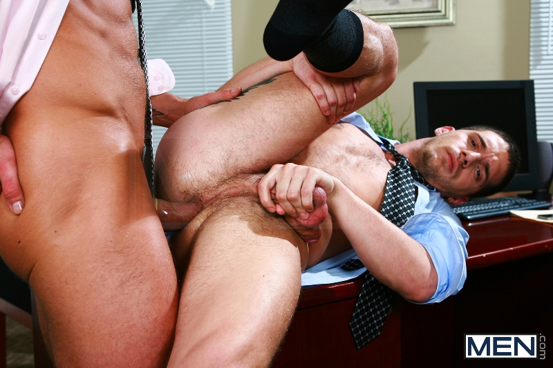 Sext In The Workplace - Trenton Ducati - Ty Roderick - The Gay Office - MEN.COM - Photo #13