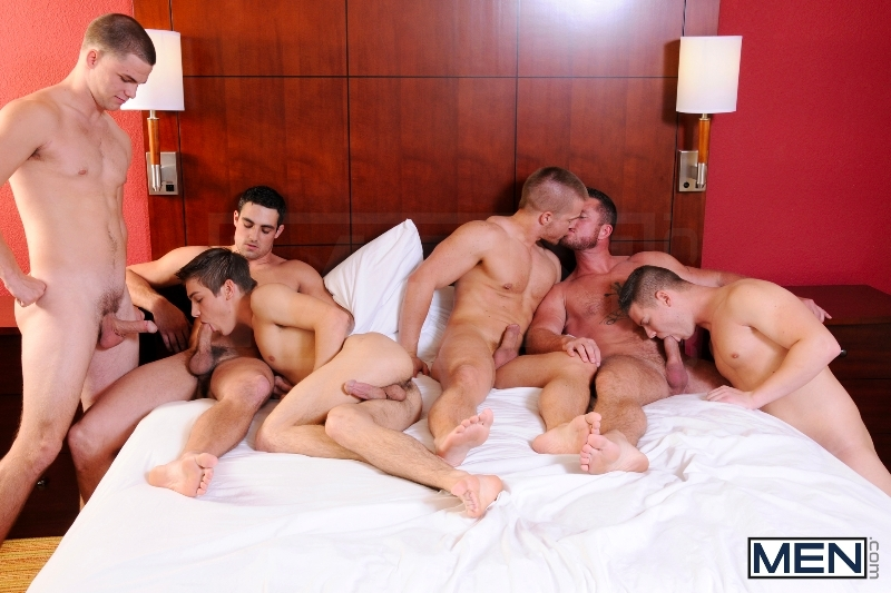 Turn Me Into A Whore 3 - Johnny Rapid - Jimmy Johnson - Charlie Harding - Liam Magnuson - Jack King - Riley Banks - Jizz Orgy - MEN.COM - Men of Gay Porn - Photo #7