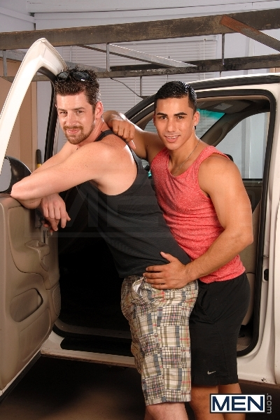 No Parking - Topher Di Maggio - Andrew Stark - Str8 To Gay - MEN.COM - Men of Gay Porn - Photo #4