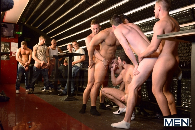 Men In Budapest - Episode #8 - Marcus Ruhl - Andrew Stark - Jeffrey Branson - Kyler Braxton - Gabe Russel - Jizz Orgy - MEN.COM - Men of Gay Porn - Photo #11