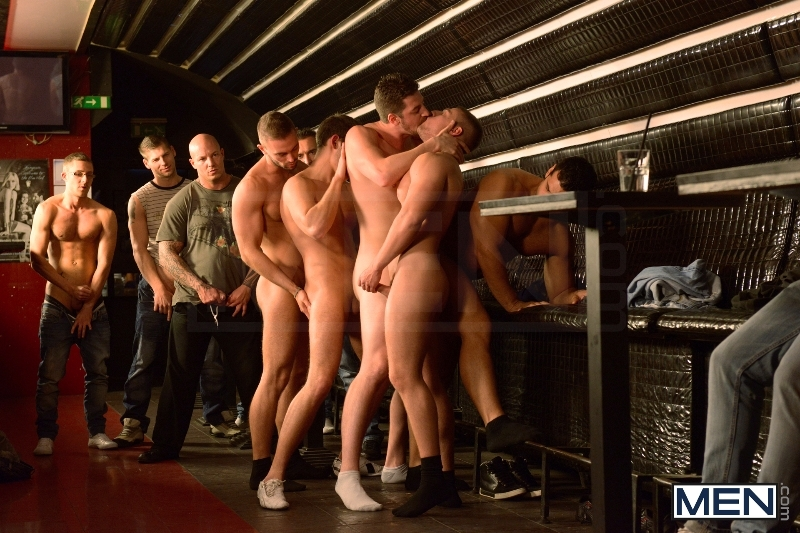 Men In Budapest - Episode #8 - Marcus Ruhl - Andrew Stark - Jeffrey Branson - Kyler Braxton - Gabe Russel - Jizz Orgy - MEN.COM - Men of Gay Porn - Photo #13