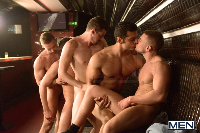 Men In Budapest - Episode #8 - Marcus Ruhl - Andrew Stark - Jeffrey Branson - Kyler Braxton - Gabe Russel - Jizz Orgy - MEN.COM - Men of Gay Porn - Photo #15