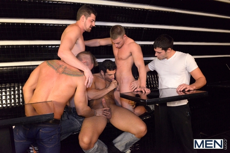Men In Budapest - Episode #8 - Marcus Ruhl - Andrew Stark - Jeffrey Branson - Kyler Braxton - Gabe Russel - Jizz Orgy - MEN.COM - Men of Gay Porn - Photo #6