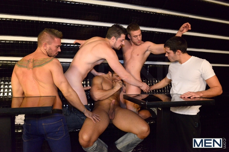 Men In Budapest - Episode #8 - Marcus Ruhl - Andrew Stark - Jeffrey Branson - Kyler Braxton - Gabe Russel - Jizz Orgy - MEN.COM - Men of Gay Porn - Photo #7