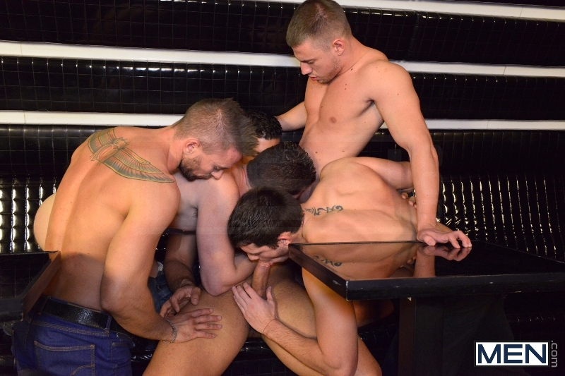 Men In Budapest - Episode #8 - Marcus Ruhl - Andrew Stark - Jeffrey Branson - Kyler Braxton - Gabe Russel - Jizz Orgy - MEN.COM - Men of Gay Porn - Photo #8