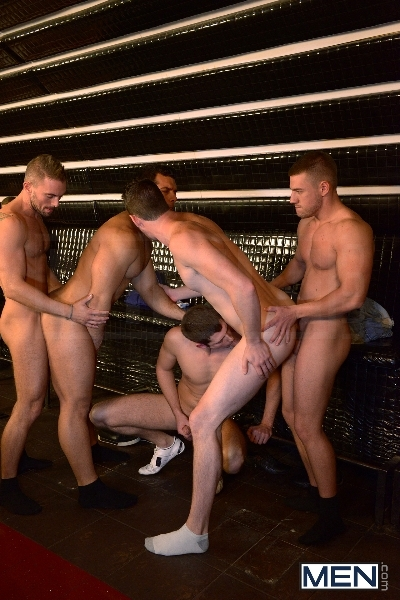 Men In Budapest - Episode #8 - Marcus Ruhl - Andrew Stark - Jeffrey Branson - Kyler Braxton - Gabe Russel - Jizz Orgy - MEN.COM - Men of Gay Porn - Photo #9