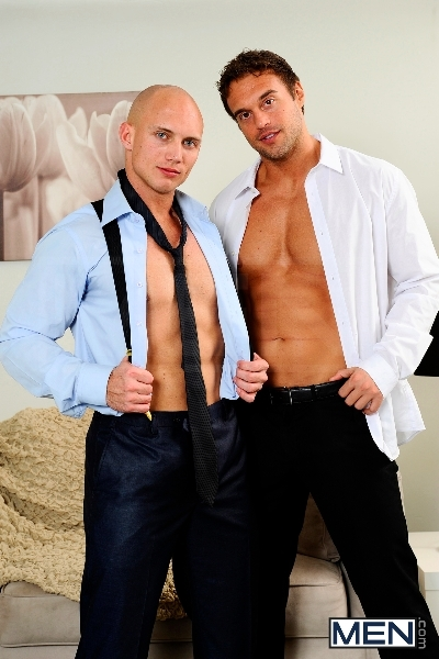 The Political Convention - John Magnum - Rocco Reed - The Gay Office - MEN.COM - Men of Gay Porn - Photo #1