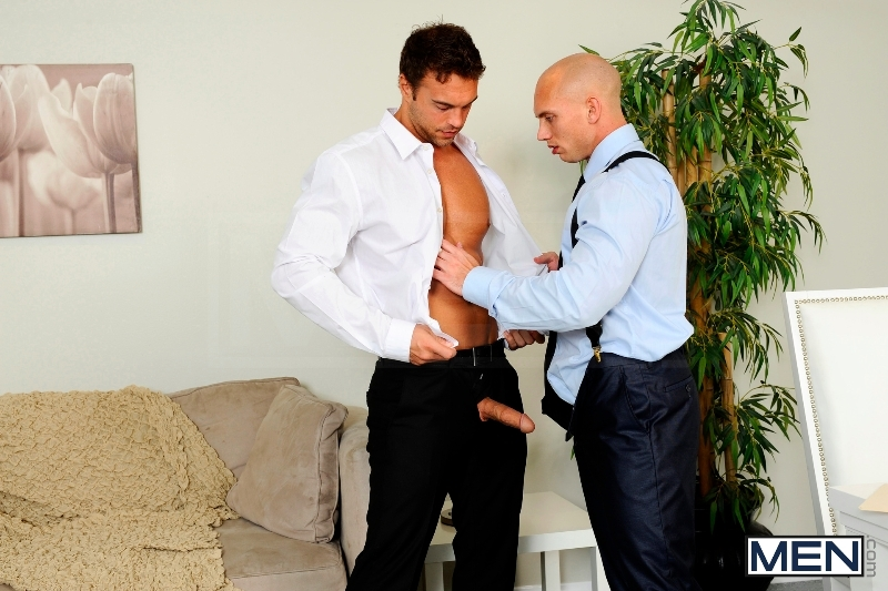 The Political Convention - John Magnum - Rocco Reed - The Gay Office - MEN.COM - Men of Gay Porn - Photo #10