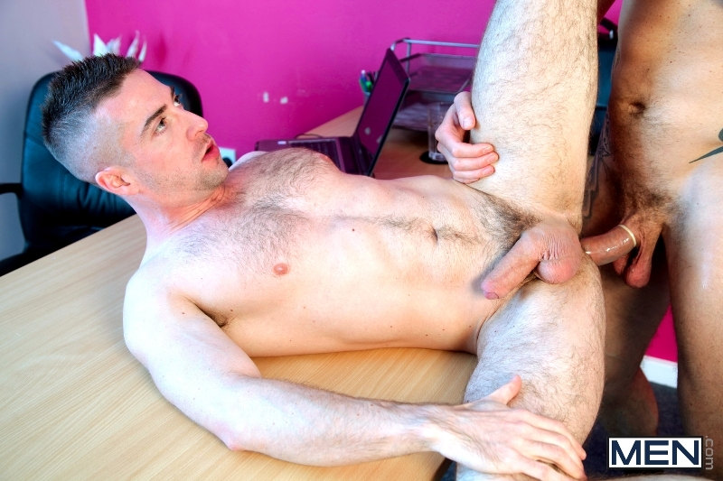 The Cable Guy - Harley Everett - Scott Hunter - UK - MEN.COM - Men of Gay Porn - Photo #14