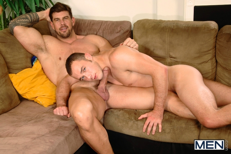 Turn The Music Down - Kirk Cummings - Zeb Atlas - Drill My Hole - MEN.COM - Men of Gay Porn - Photo #1