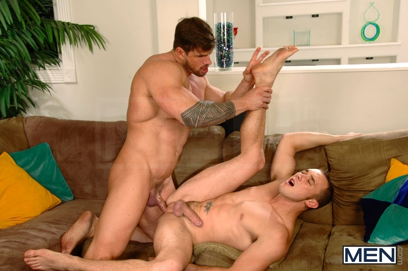 Turn The Music Down - Kirk Cummings - Zeb Atlas - Drill My Hole - MEN.COM - Men of Gay Porn - Photo #11