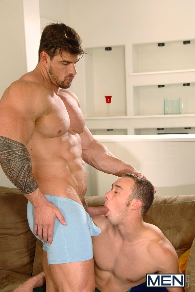 Turn The Music Down - Kirk Cummings - Zeb Atlas - Drill My Hole - MEN.COM - Men of Gay Porn - Photo #6