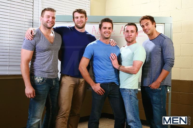 Sex Addicks Anonymous - Trevor Knight - Colby Keller - Colby Jansen - Rocco Reed - Mike De Marko - Jizz Orgy - Photo #2