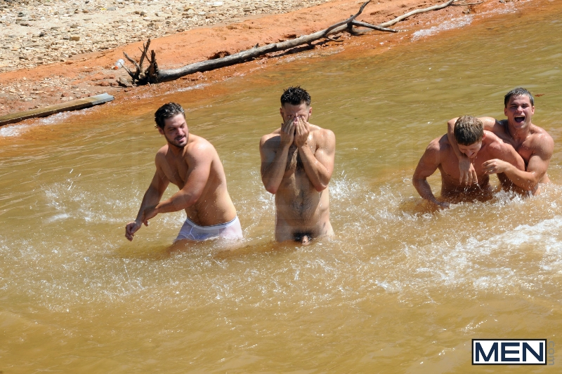 Skinny Dipping - Sebastian Young - Tommy Defendi - Jimmy Johnson - Andrew Blue - Brett Carter - Jizz Orgy - Photo #10