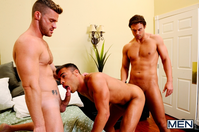 My Bride's Hot Brother: The Honeymoon - Rocco Reed - Landon Conrad - Micah Brandt - Str8 To Gay - Photo #11