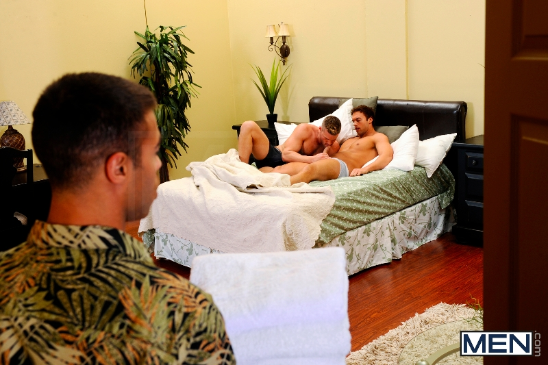 My Bride's Hot Brother: The Honeymoon - Rocco Reed - Landon Conrad - Micah Brandt - Str8 To Gay - Photo #5