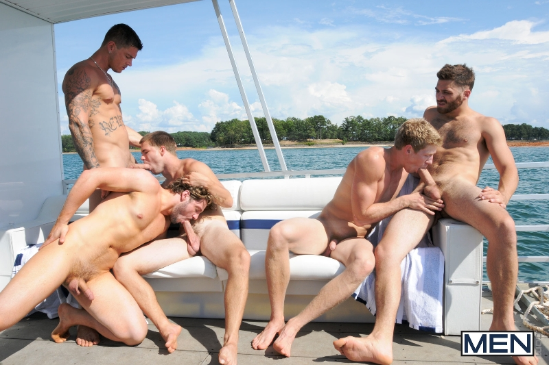 Skinny Dipping - Sebastian Young - Tommy Defendi - Jimmy Johnson - Andrew Blue - Brett Carter - Jizz Orgy - Photo #13