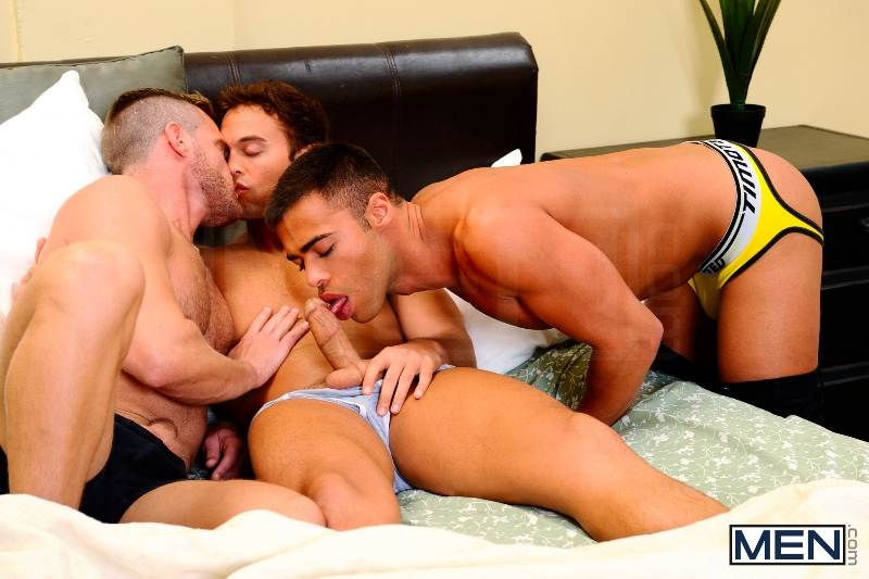 My Bride's Hot Brother: The Honeymoon - Rocco Reed - Landon Conrad - Micah Brandt - Str8 To Gay - Photo #8