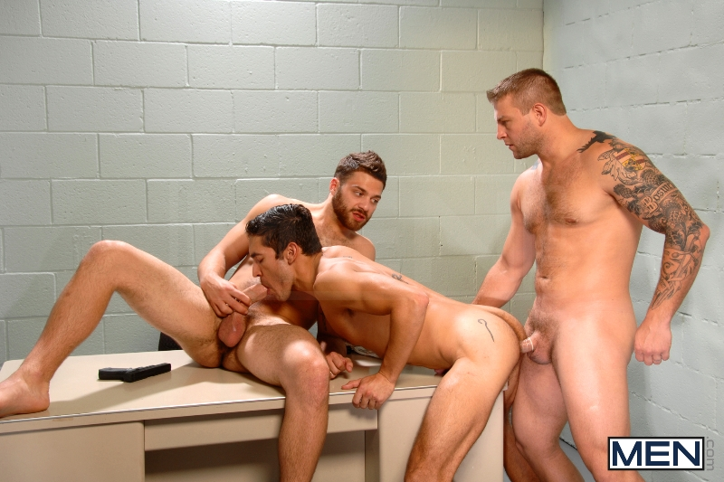 Undercover - Part 2 - Tommy Defendi - Dale Cooper - Colby Jansen - Str8 To Gay - Photo #13