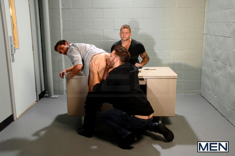 Undercover - Part 2 - Tommy Defendi - Dale Cooper - Colby Jansen - Str8 To Gay - Photo #9