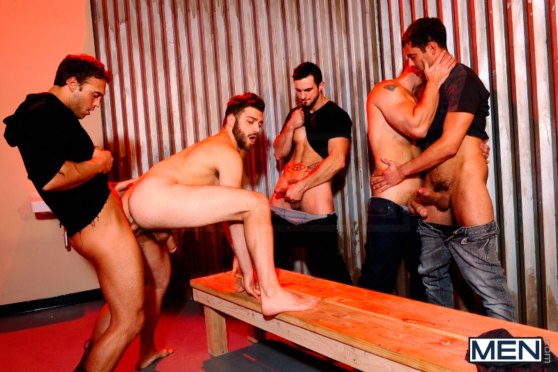 Undercover - Part 3 - John Magnum - Phenix Saint - Tommy Defendi - Rocco Reed - Donny Wright - Jizz Orgy - Photo #11