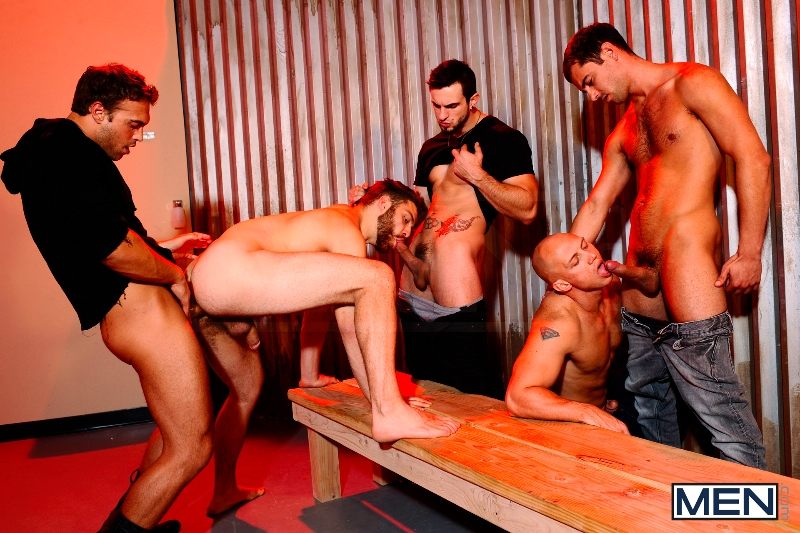 Undercover - Part 3 - John Magnum - Phenix Saint - Tommy Defendi - Rocco Reed - Donny Wright - Jizz Orgy - Photo #12